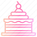 birthday, cake, ice cream icon
