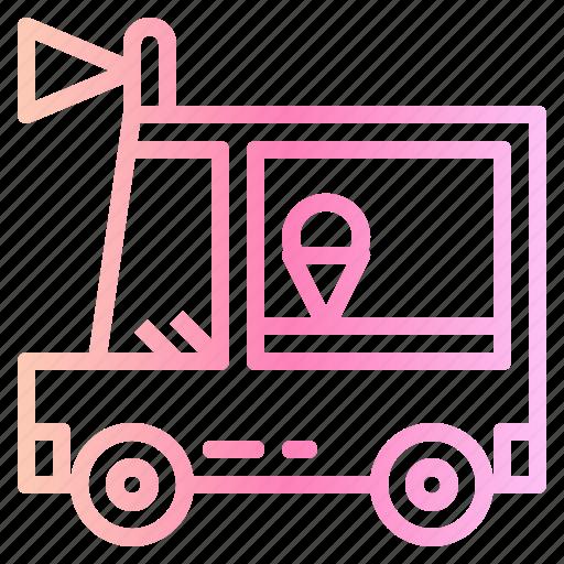 Ice cream, shop, van icon - Download on Iconfinder