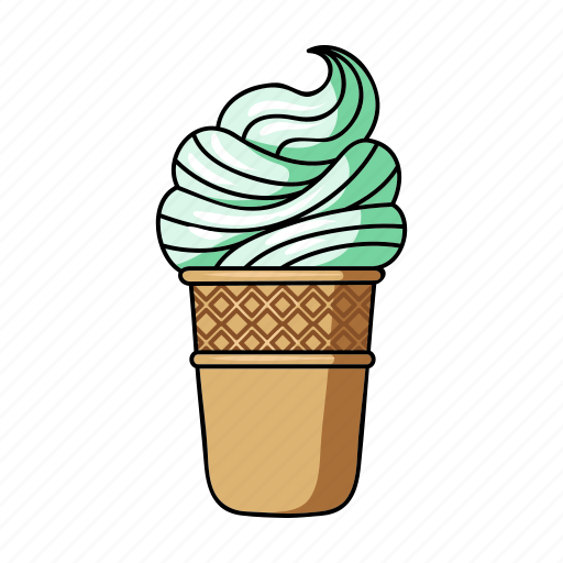 dessert, food, ice cream, sweetness, treat icon