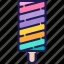 desert, frozen, homemade, ice cream, popsicle, summer, sweet icon