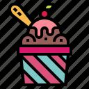 dessert, food, ice cream, sweet