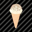 cartoon, chocolate, cocoa, cream, dessert, ice, sweet