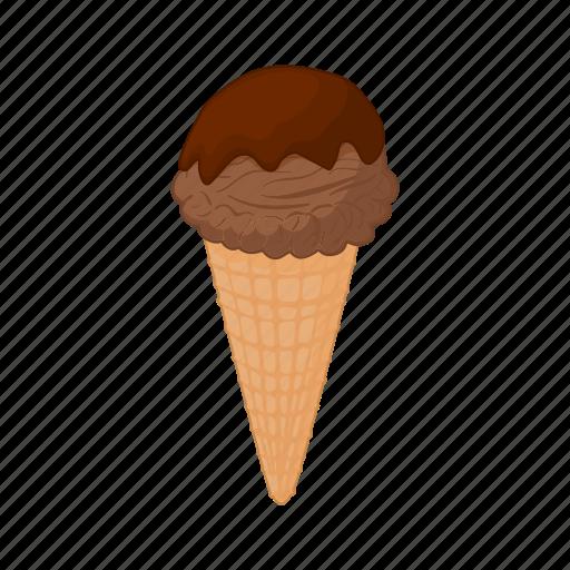 cartoon, chocolate, cocoa, cream, dessert, ice, sweet icon