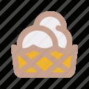 cone, ice cream, dessert, sweet