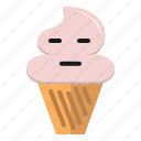 cream, emoji, emoticon, ice, icecream
