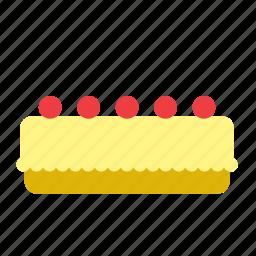 bakery, cake, dessert, food, lemon, pie icon