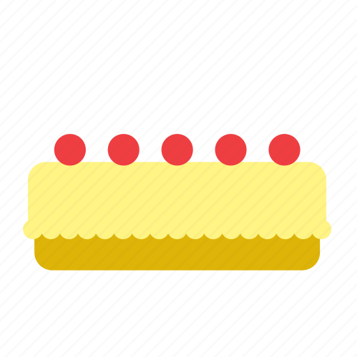 bakery, cake, dessert, food, lemon, pie icon