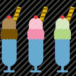 cup, dessert, food, ice cream, ice-cream, scoop, shop icon