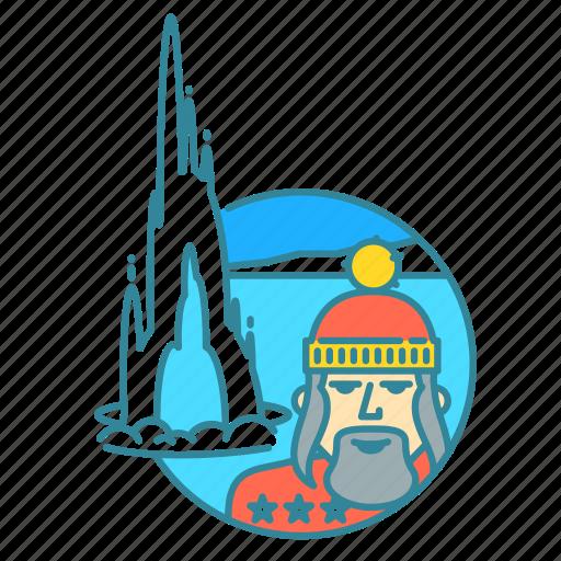 geysir, hat, holiday, iceland, snow, strokkur, tourist icon
