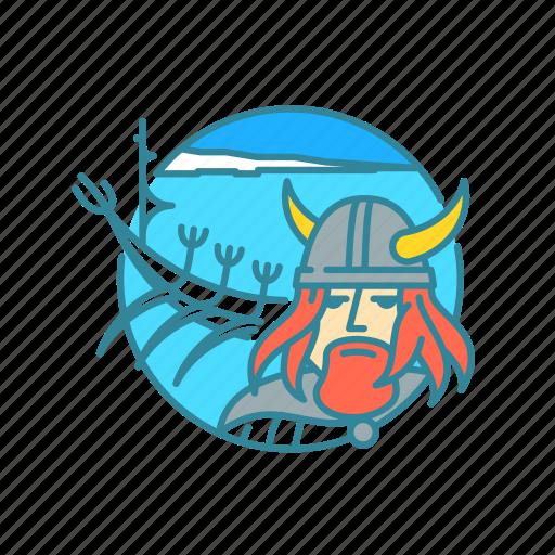 beard, helmet, holiday, iceland, snow, the sun voyager, viking icon