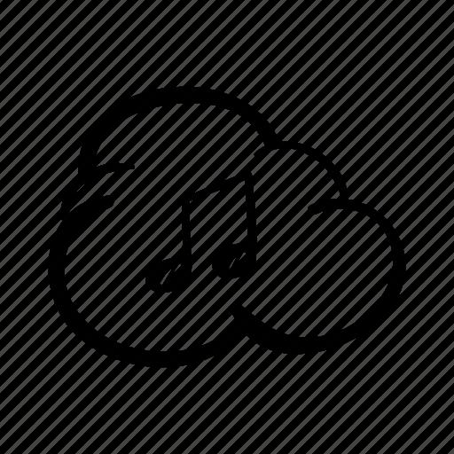 cloud, cloud storage, download, download music, icloud, icloud music, music icon