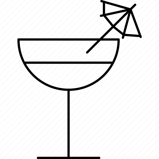 alcohol, beverage, cocktail, drink, glass, summer icon