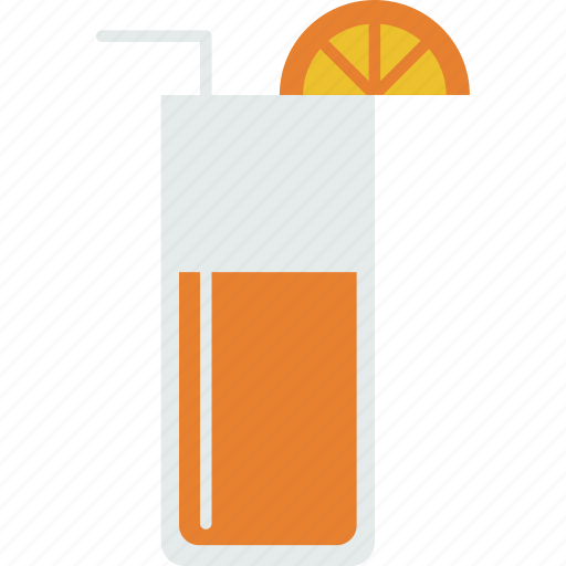 beverage, cocktail, drink, glass, juice, orange, summer icon