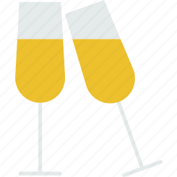 alcohol, beverage, champaign, cocktail, drink, liquor icon