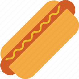 dog, eating, fastfood, food, hot, kitchen, restaurant icon