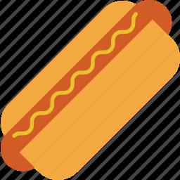 dog, eating, fastfood, food, hot, kitchen, restaurant icon