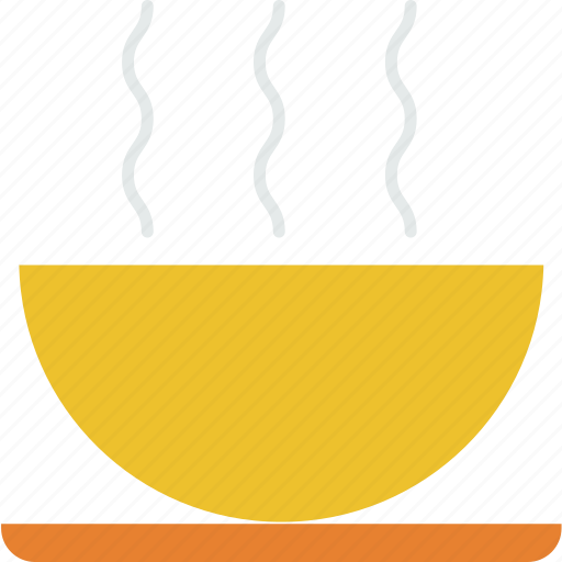 bowl, dinner, food, hot, meal, soup icon