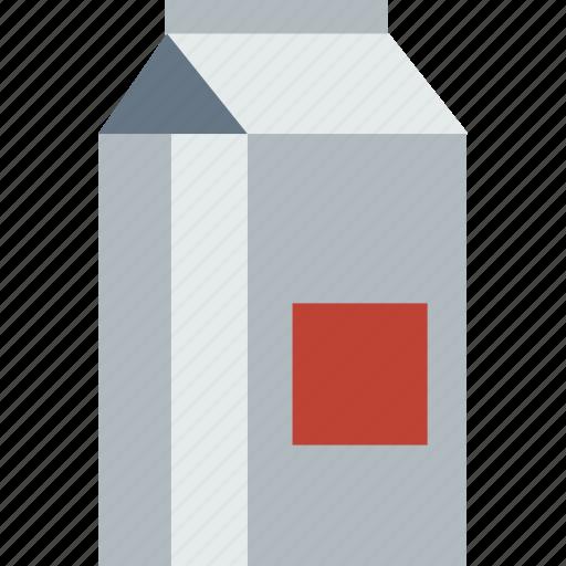 box, breakfast, food, healthy, milk, milk bottle, package icon