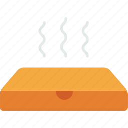 box, delivery, fastfood, food, hot, meal, pizza icon