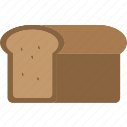 bake, baked, bread, breakfast, eating, food, meal icon