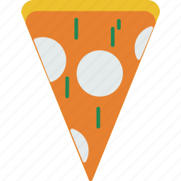 cheese, fastfood, food, italian, pizza, slice icon