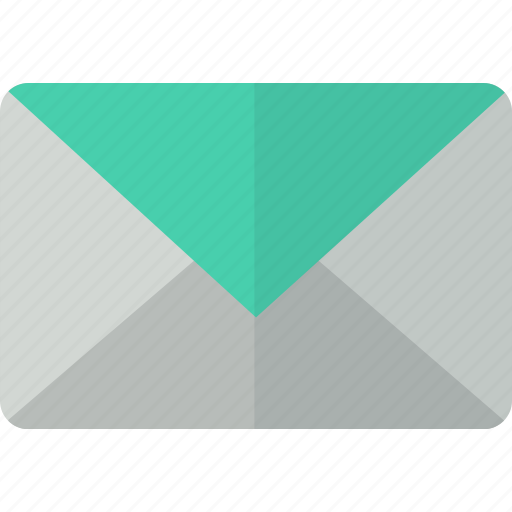 communication, email, envelope, letter, mail, packet, post icon