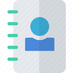 communication, contact, contacts, mail, user icon