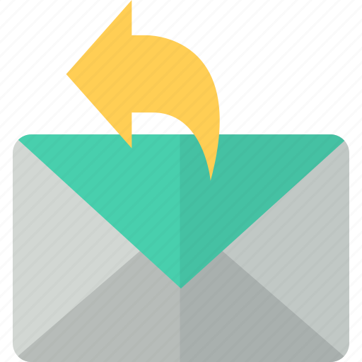 answer, communication, letter, mail, message, packet icon