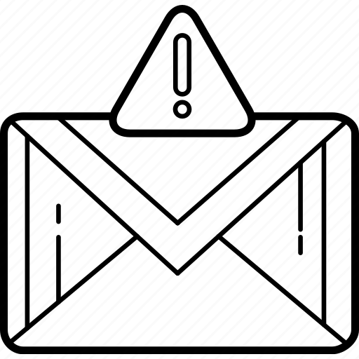 envelope, error, letter, mail, message, packet icon