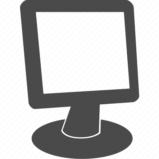 computer, desktop, display, monitor, pc, screen, technology icon