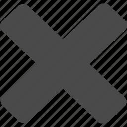 cancel, close, delete, minus, remove icon