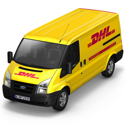 dhl, front icon