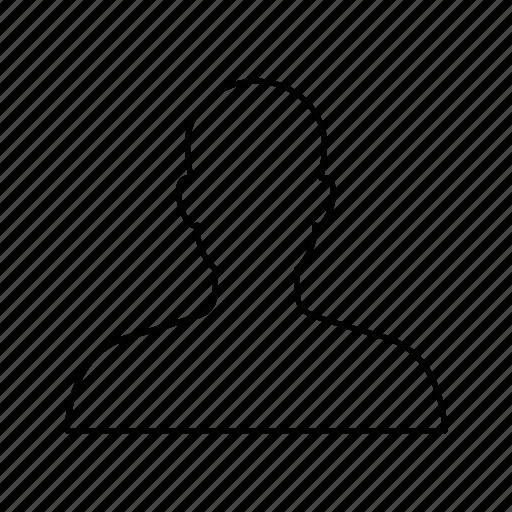 account, avatar, face, head, person, profile, user icon