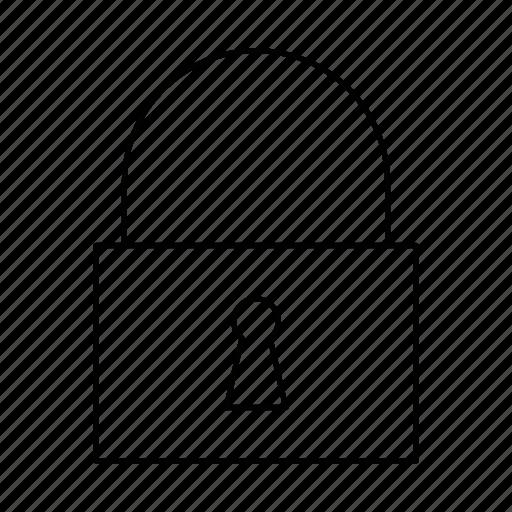 close, closed, lock, padlock, password, safe, security icon