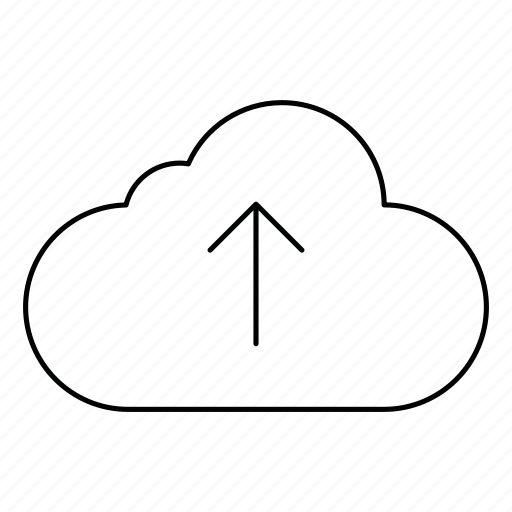 cloud, cloudy, database, network, server, storage, upload icon