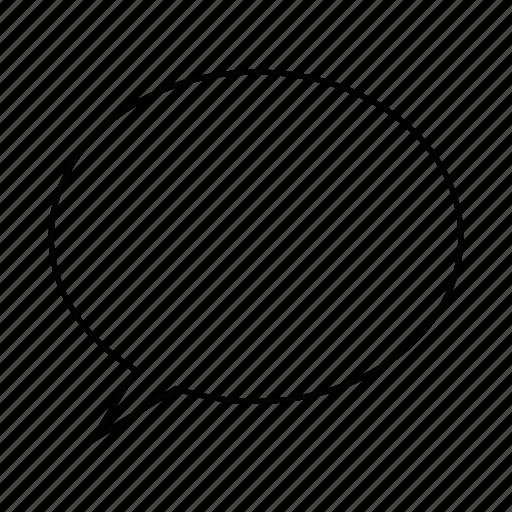 bubble, chat, conversation, dialog, dialogue, discussion, talk icon