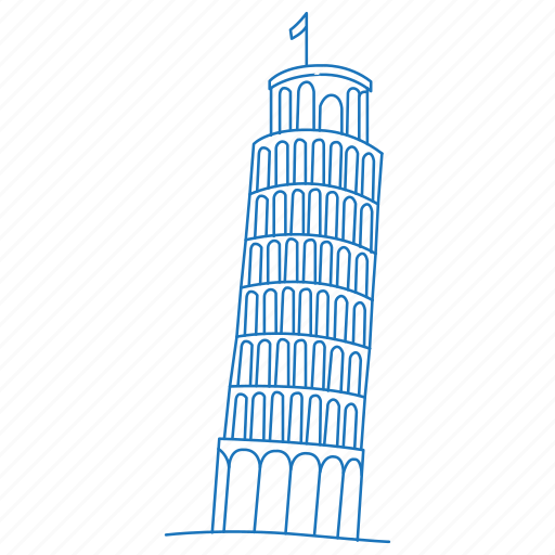 architecture, building, iconic, italy, leaning, pisa, tower icon