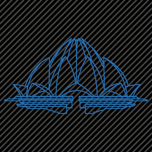 architecture, bahai, building, iconic, india, lotus temple, new delhi icon