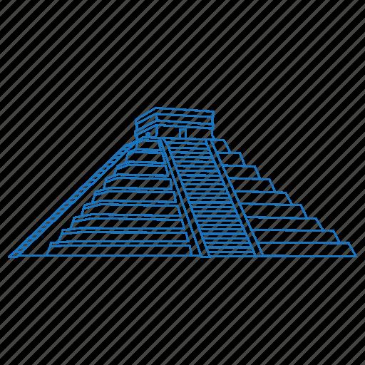 ancient, architecture, chichen itza, iconic, maya, mexico, uxmal icon