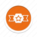 acheivement, awards, badge icon