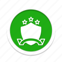 acheivement, awards, shield icon