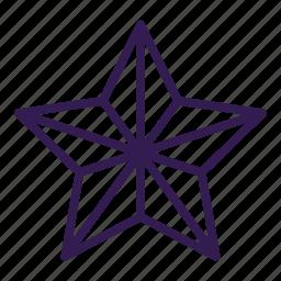 acheivement, awards, star icon