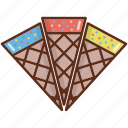 cone, cone ice cream, dessert, ice cream, refreshments, sweets icon