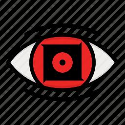eye, naruto anime manga, paths eyes, uchiha eye icon