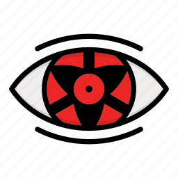 eye, naruto anime manga, paths eyes, uchiha eyes icon