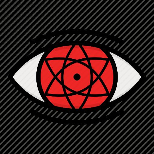 eye, naruto, paths eyes, uchiha eyes icon