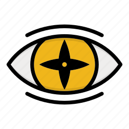 eye, naruto, naruto anime manga, paths eyes icon
