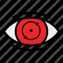 eye, kakashi, naruto anime manga, paths eyes, phase two icon