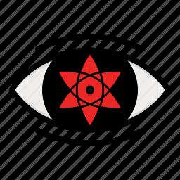 eye, naruto anime manga, paths eyes, uchiha ey icon