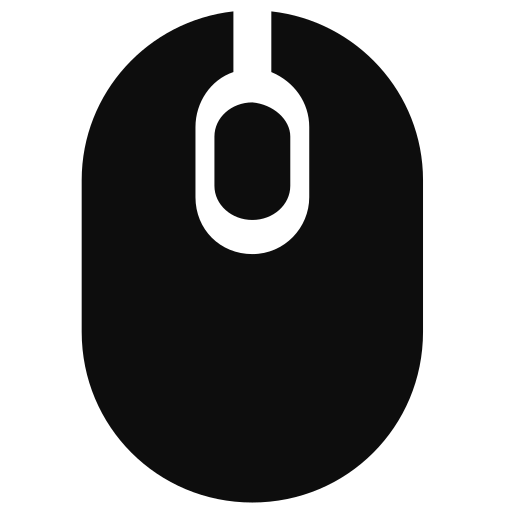 cursor, hardware, mouse, technology icon icon